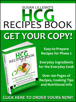 Click here to order your HCG Recipes Book! These recipes make it easier for you to stick to the HCG Diet protocol.